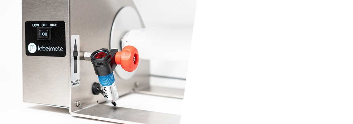 etikettenspender automatischer sensor